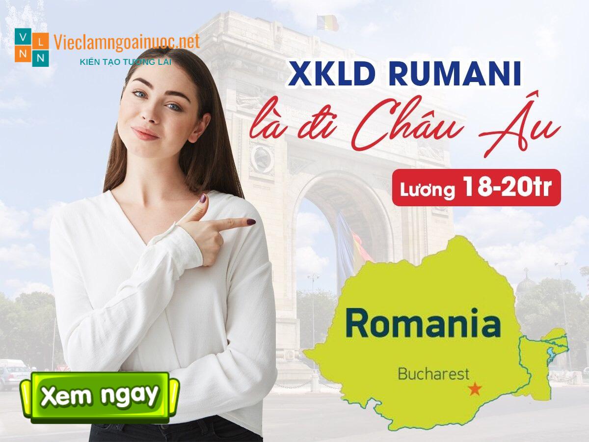 xuất khẩu lao động rumani